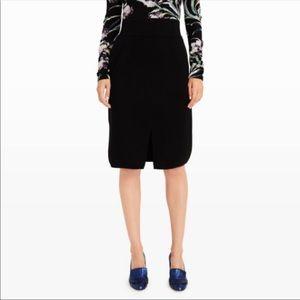 Club Monaco Sundith Pencil Skirt Jupe Soot Black